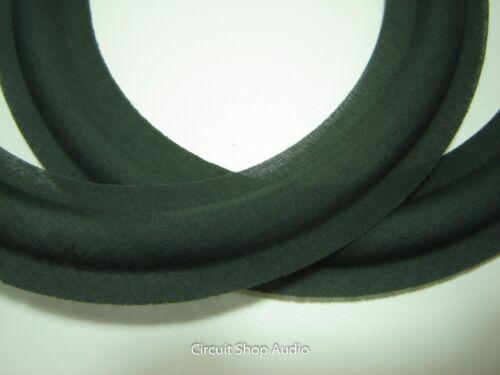 "#1 Pair 8/"" Cloth Surrounds for Speaker Repair"
