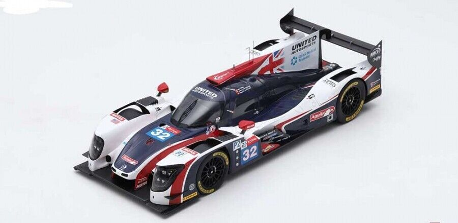 1 18th Ligier JS P217 24hr Le Mans 7th Place 2018  32
