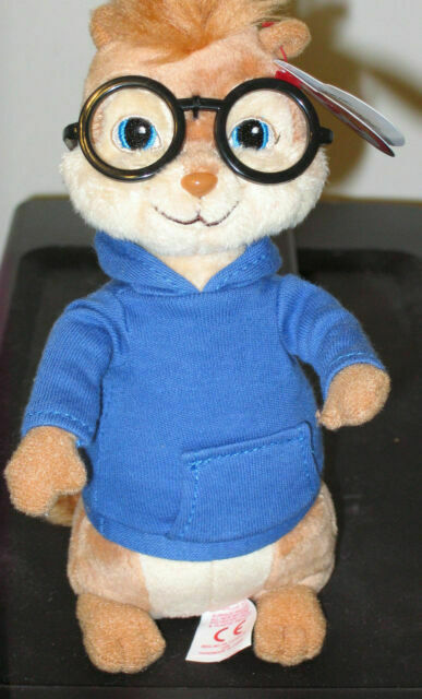 Ty Beanie Baby 7 Simon Chipmunk Alvin And The Chipmunks Plush Stuffed 60db3 For Sale Online Ebay
