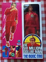 "The Six Million Dollar Man 13"" ""unused"" Complete Figure New Box 1975 Bionic!"