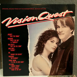 VISION-QUEST-Movie-Soundtrack-12-034-Vinyl-Record-LP-EX