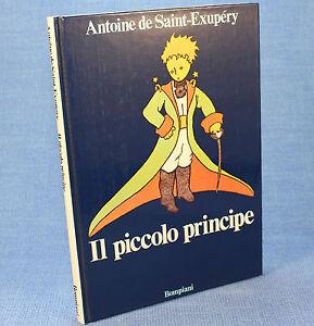 Antoine-de-Saint-Exupery-IL-PICCOLO-PRINCIPE-ed-Bompiani-cop-rigida-blu-1986