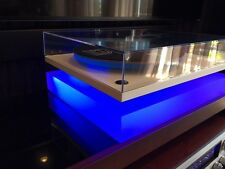 Wow For Music Hall Mmf Custom Acrylic Turntable Baseisolation Platform Withled