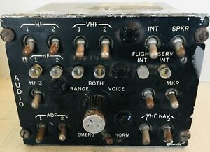 BENDIX-Vintage-Cockpit-Audio-selector-panel-1960-s-AMERICANA