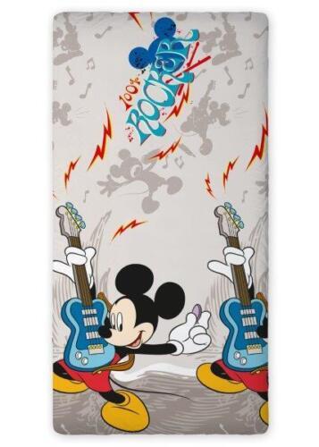 Bettlaken 90 x 200 cm Minnie Mickey Mouse Princess Fairies Pooh ..