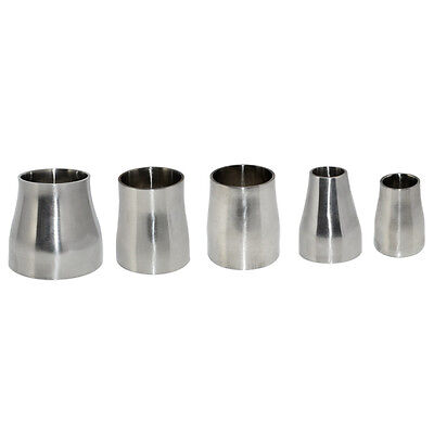 """63MM to 51MM 2.5"""" to 2"""" Sanitary Weld Reducer SS316 SUS316 Stainless Steel Hot"""