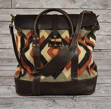 d626ddcfee item 1 Ralph Lauren RRL Vintage Leather Wool Indian Blanket Serape  Overnight Bag New -Ralph Lauren RRL Vintage Leather Wool Indian Blanket  Serape Overnight ...