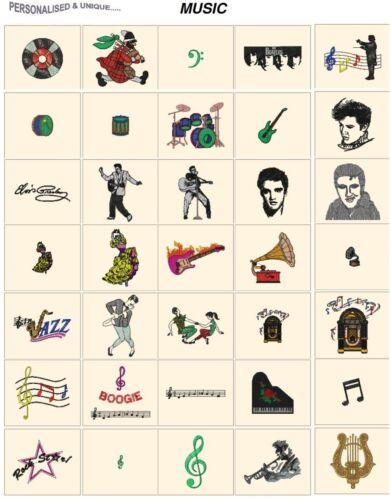 CD o USB formatos de archivos Embroidery Designs Pes Jef Hus más Máquina de la Música Etc