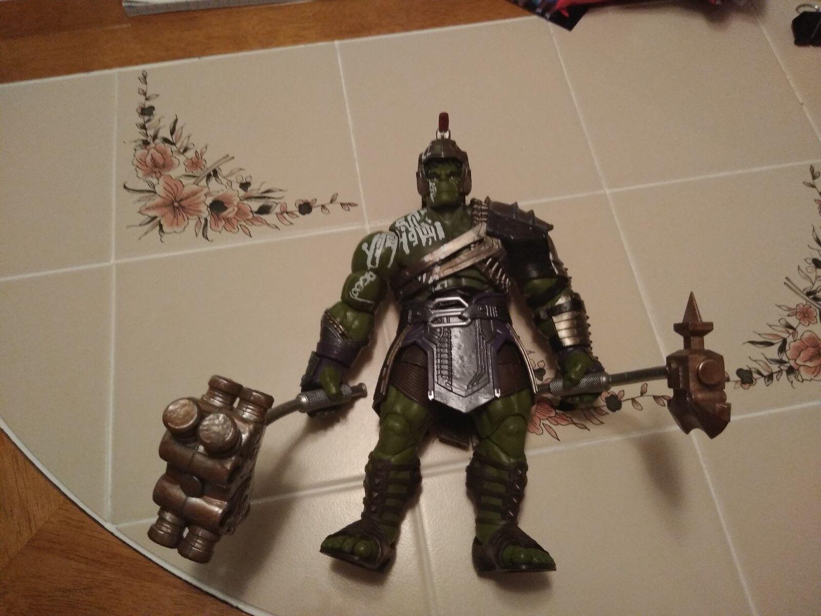 MCU Marvel Legends Thor Ragnarok Gladiator Hulk BAF Loose Complete