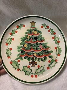 Holly bush Christmas baubles Vintage china thimble