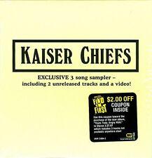 Kaiser Chiefs - Exclusive 3 Song Sampler [ECD] (2007)  US Sampler CD  NEW/SEALED