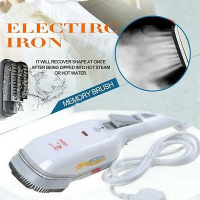 Handheld Fabric Iron Laundry Suits Clothes Electric Steamer Brush US Plug DE