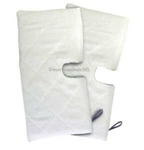 2-x-Euro-Pro-Pads-Shark-Pocket-Steam-Compatible-Cover-Mop-Pads-S3501-S3601-S3901