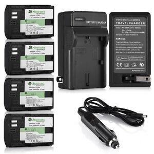 LP-E6-Battery-for-Canon-EOS-6D-60D-7D-70D-5D-Mark-II-III-DSLR-Camera-amp-Charger