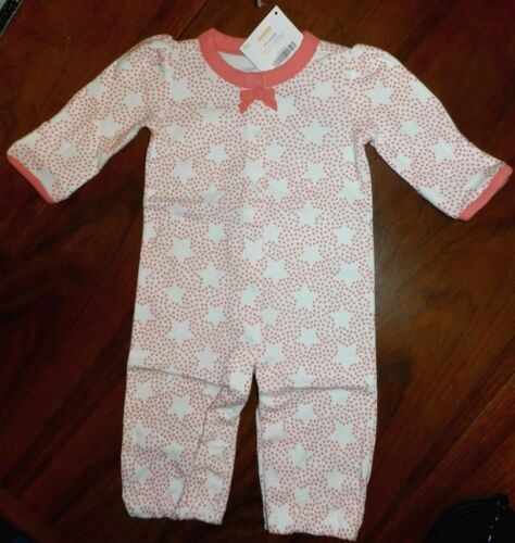 Romper Convertible Gymboree Star Dot Pink Girl size 6-9 month New