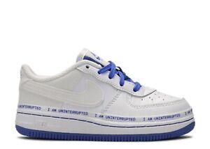 Détails sur Petit Bébés Garçons Nike Air Force 1 (TD) Mtaa QS Bleu Blanc CQ4562 100 UK 5.5 afficher le titre d'origine