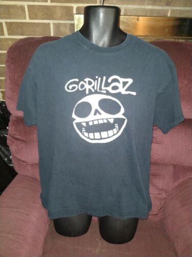 Vintage Gorillaz Phase 1 Band T Shirt Skull Black