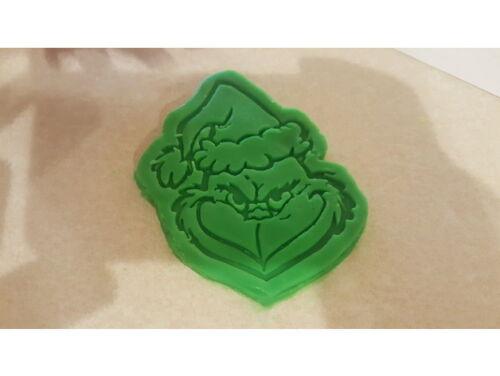 Le Grinch Cookie Pâtisserie Biscuit Cutter Icing Fondant Pâtisserie BAKE Cuisine de Noël!