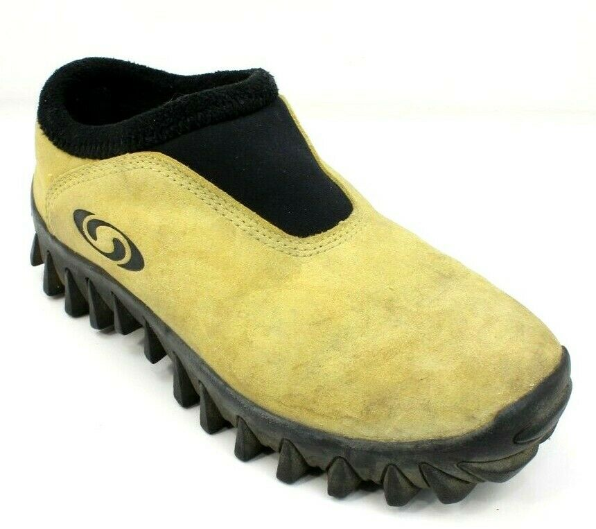Salomon Thinsulate Suede Slip-On Contagrip Trail Hiking shoes Womens 5.5