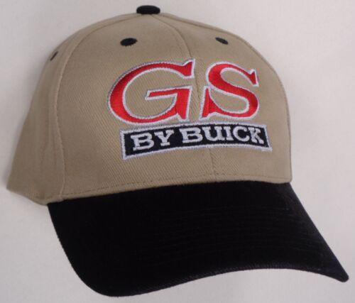 Hat Cap Licensed GM Buick Gran Sport GS Tan Black HR 141