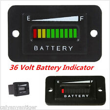 36Volt Battery Indicator Meter Gauge For EZGO Club Car Yamaha Golf Cart Boat ATV