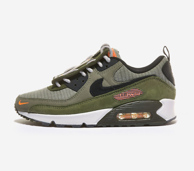 New Nike Air Max 90 SE Shoes Sneakers (DD5354-222) - Medium Olive ...