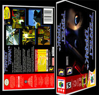 Perfect Dark - N64 Reproduction Art Case/box No Game.