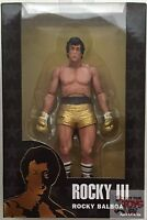 Rocky Balboa gold Trunks Rocky Iii Neca 40th Anniversary 2017 7 Inch Figure