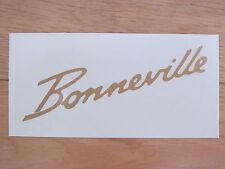 60-0680 TRIUMPH BONNEVILLE T120 650cc GOLD SIDE COVER PANEL WATERSLIDE TRANSFER