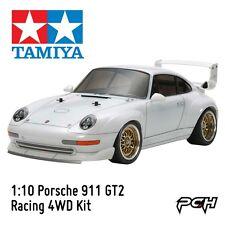 Tamiya 1:10 Porsche 911 GT2 Racing 4WD Electric RC Touring Car Kit TAM47321