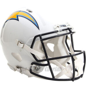 San Diego Chargers Riddell Nfl Full Size Authentic Speed