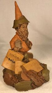 PEDRO-R 1986~Tom Clark Gnome~Cairn Item #1158~Ed #37~Hand Signed~Story Included
