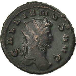 5.60 Modern Techniques Cohen #5 Au Antoninianus New Fashion 50-53 #65964 Gallienus Billon