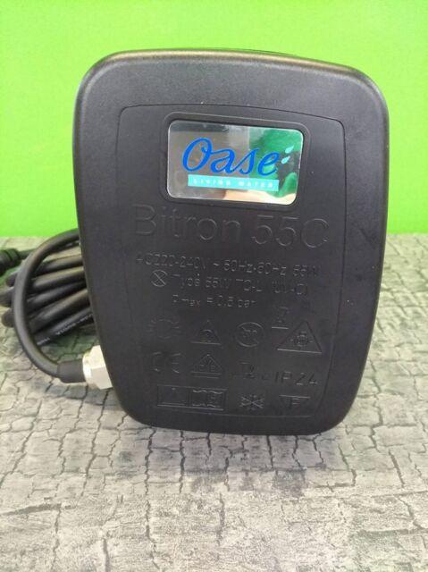 UVC Einheit Oase Ersatz Elektroeinheit für Oase Bitron 55 C 2014