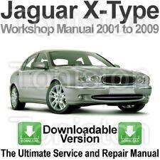 Jaguar X-Type 2001 to 2009 Workshop, Service and Repair Manual DOWNLOAD