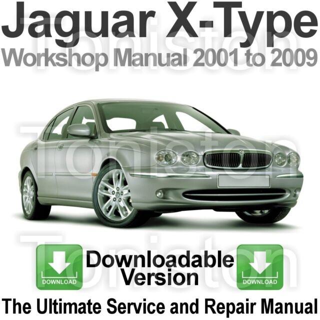 jaguar x type 2001 2009 workshop repair service manual ebay rh ebay co uk jaguar x type workshop manual free jaguar x type workshop manual free