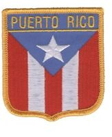 Puerto Rico Patch - Red, Blue, White, Gold