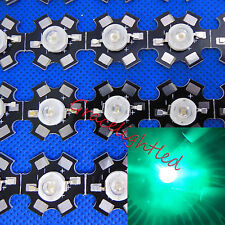 5pcs 1W  Cyan 490nm-495nm  high power led with 20nm star