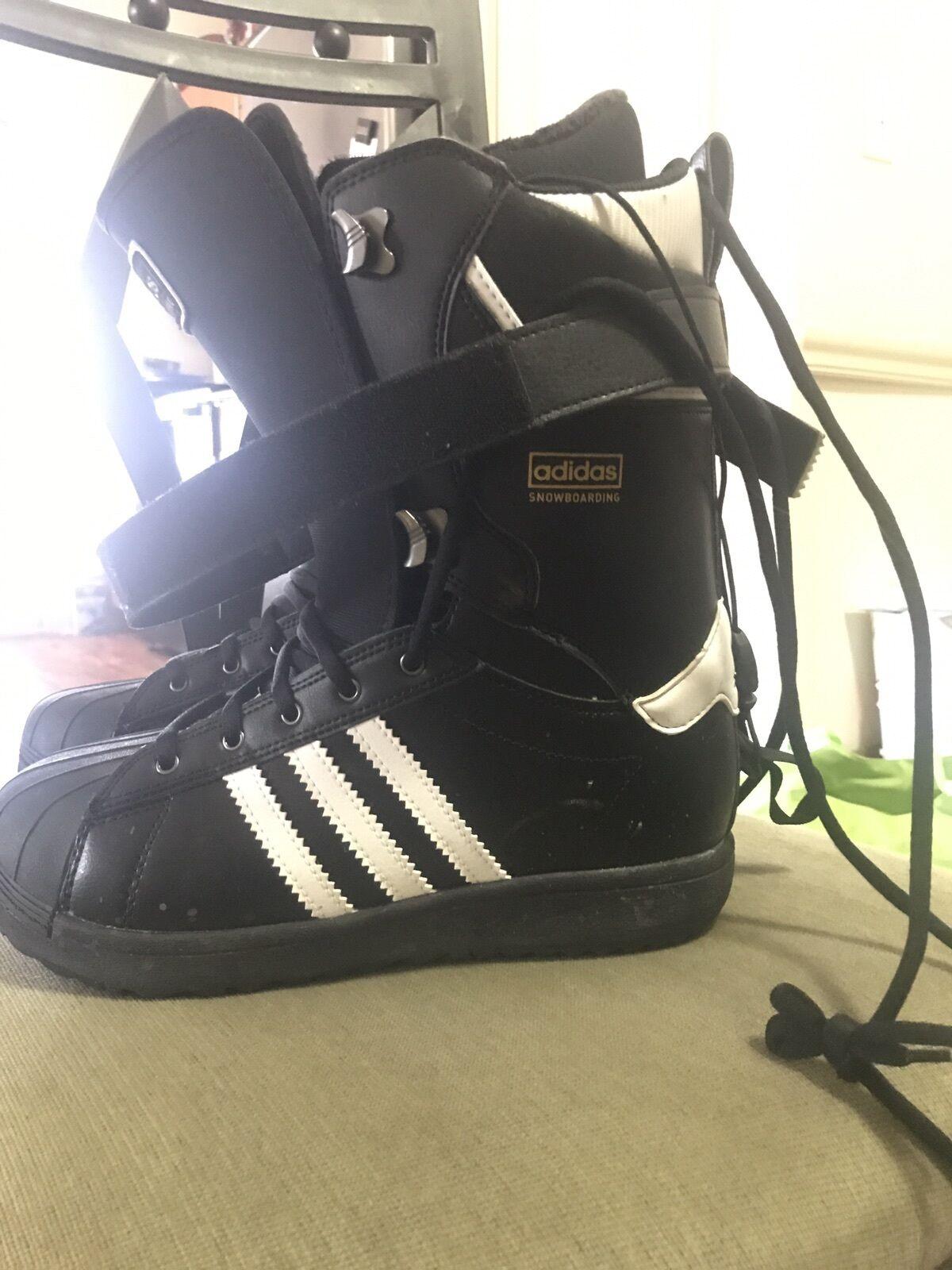 Adidas Original Snowboarding Boots Size 10