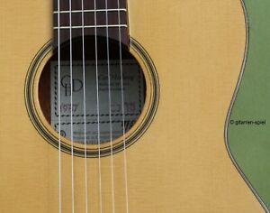 3/4 Konzert-Gitarre Hellweg CJ10 Fichte massiv Bauart spanisch Kindergitarre Top