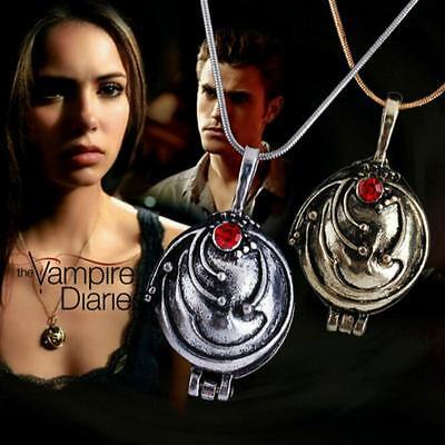 """The Vampire Diaries"" Elena Gilbert Silver/Gold Locket ..."