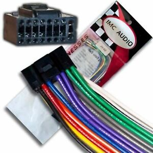 Details about Wire Harness for Select JVC Stereos 16 pin Black - Plugs on