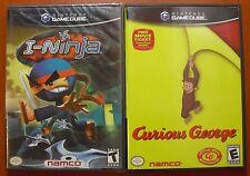 I-Ninja & Curious George, Nintendo GameCube & Wii, NTSC-U/C, NEW SEALED & USED!!