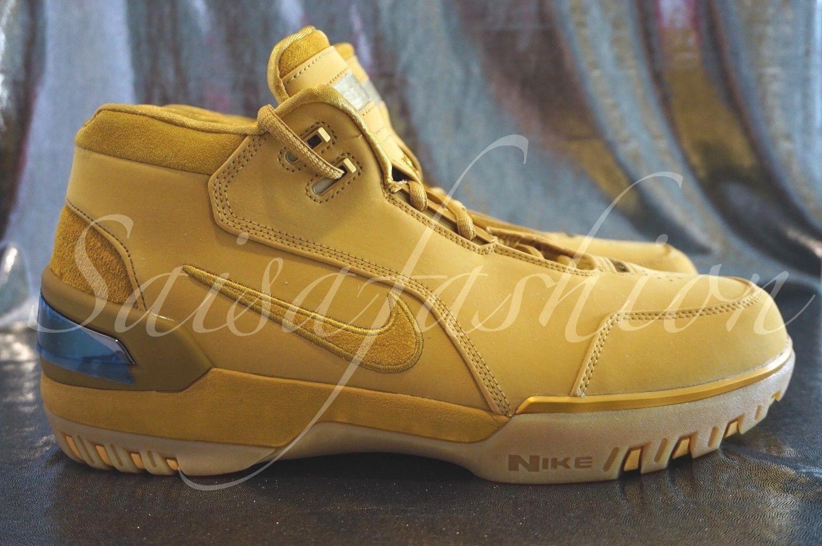 Nike Air Zoom generación ASG QS aq0110-700 'Wheat Oro' El LeBron James SZ 9.5 El Oro' modelo mas vendido de la marca 42d92a