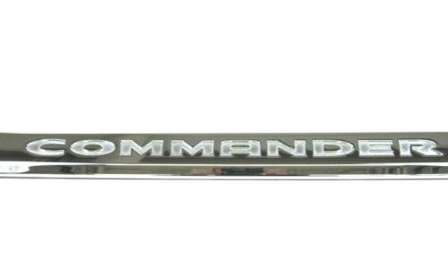 2006-2010 Jeep Commander Front Left Lower Driver Door Chrome Moldings Trim OEM