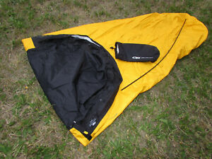 Outdoor Research OR DELUXE BIVY sack one person GORE TEX backpacking shelter ~~