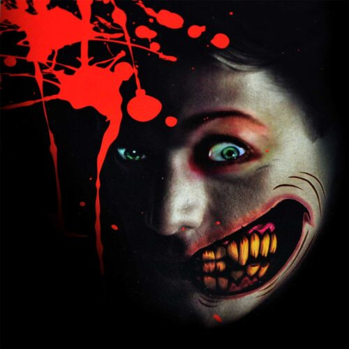 BIG Mouth TATUAGGI temporanei adesivi Halloween Zombie Maschera Accessorio Vernice