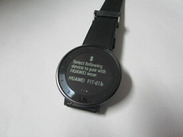 Huawei Fit MES-B19 Black Bluetooth 4.2 waterproof Smart Watch
