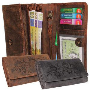 Haben Sie Einen Fragenden Verstand Rustikale Leder Damen Geldbörse Geldbeutel Lederbörse Kartenfächer Rindleder Hochwertige Materialien Geldbörsen & Etuis Damen-accessoires