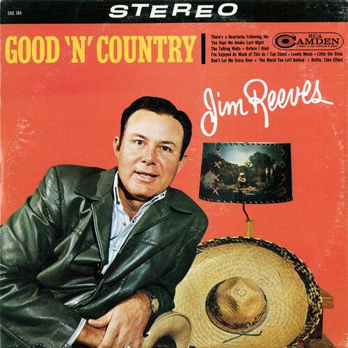 Jim Reeves - Good 'N' Country [New CD] Manufactured On Demand